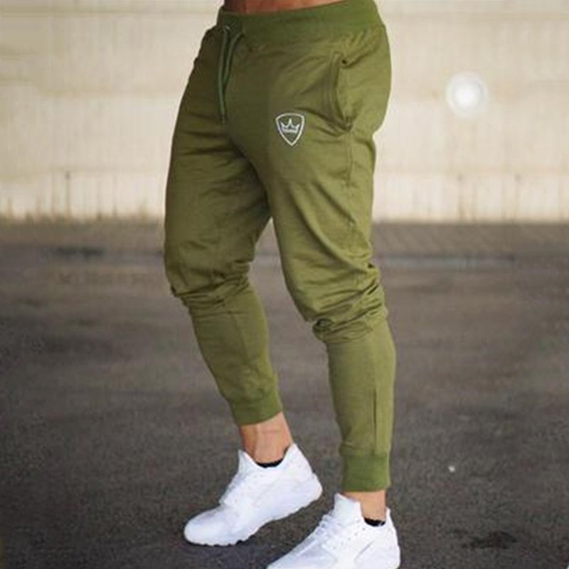 Men's Sports Casual Fitness Cotton Ankle Pant