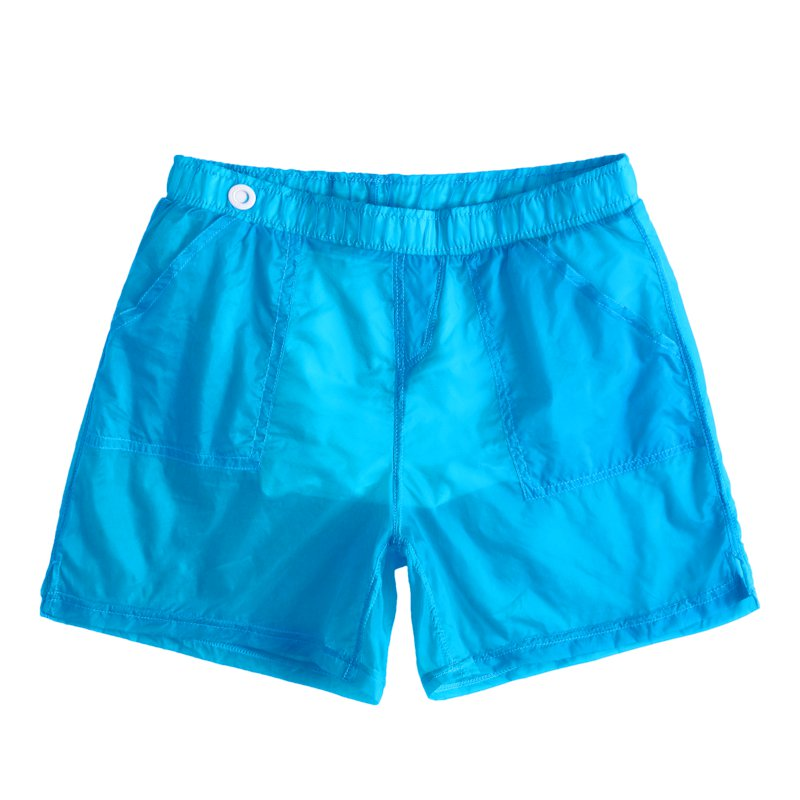 Men's Fashion Beach Sexy Translucent Shorts With Lined