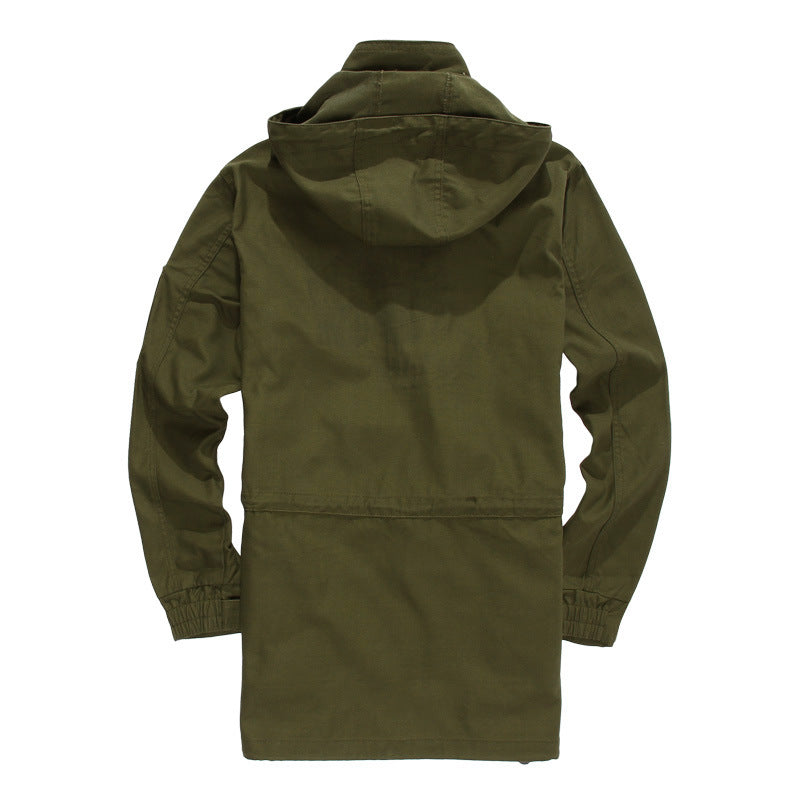 Outdoor Leisure Sports Training Uniforms Army Windbreaker Jacket
