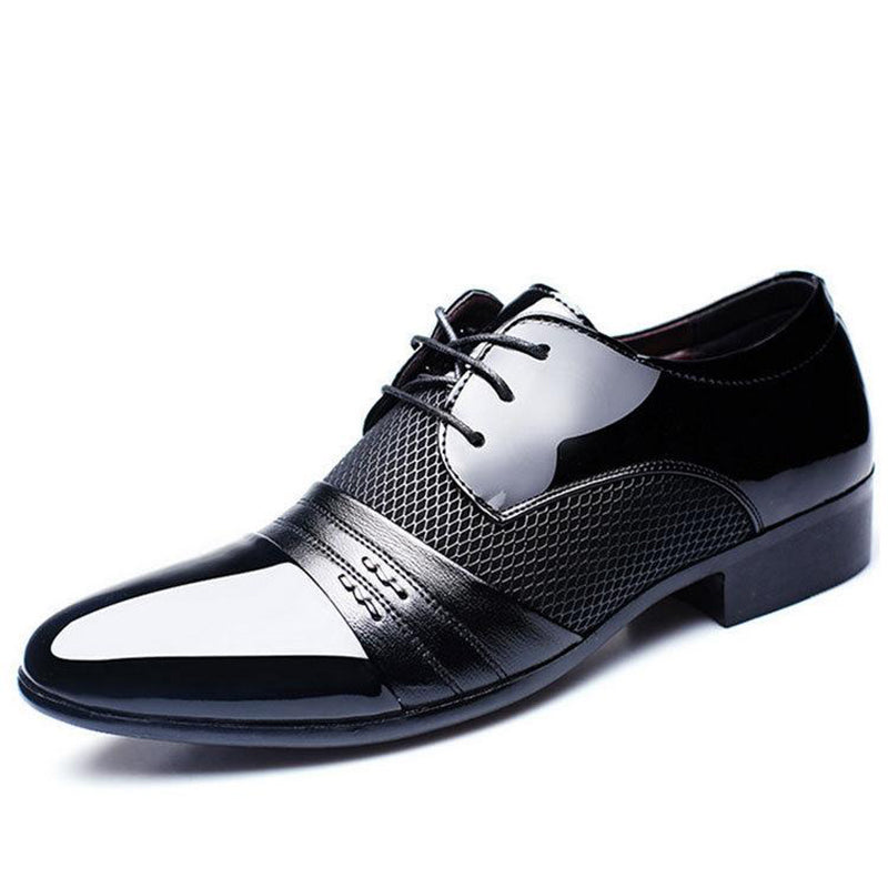 Men's Oxfords Business Artificial Leather Low Heel Formal Shoes