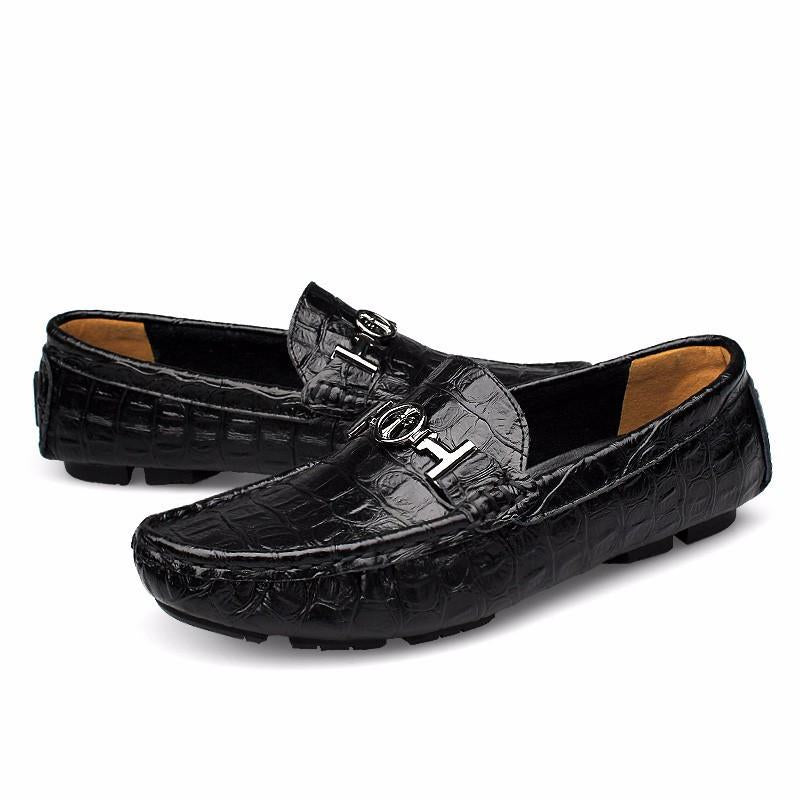 Big Sizes 38-50 Men's Soft Leather Loafers Shoes