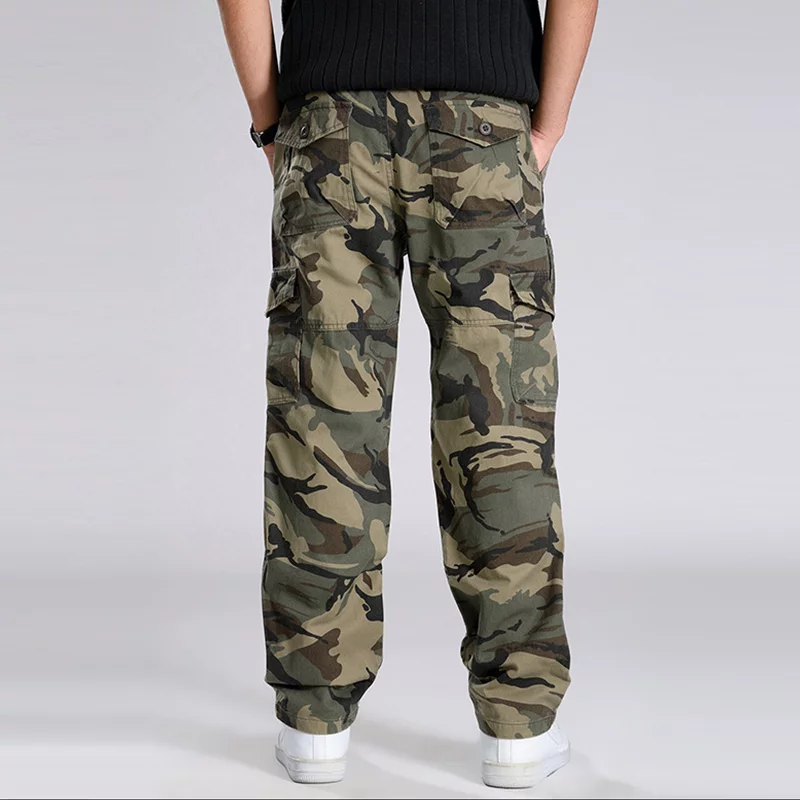 Casual Camouflage Cargo Pants