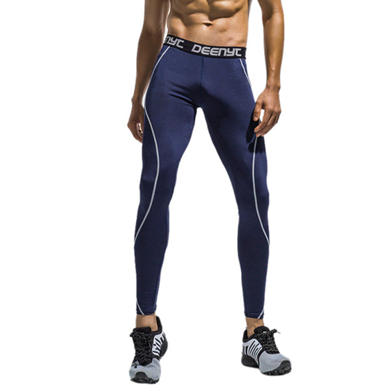 Highly Elastic Bodybuilding Sports Pants