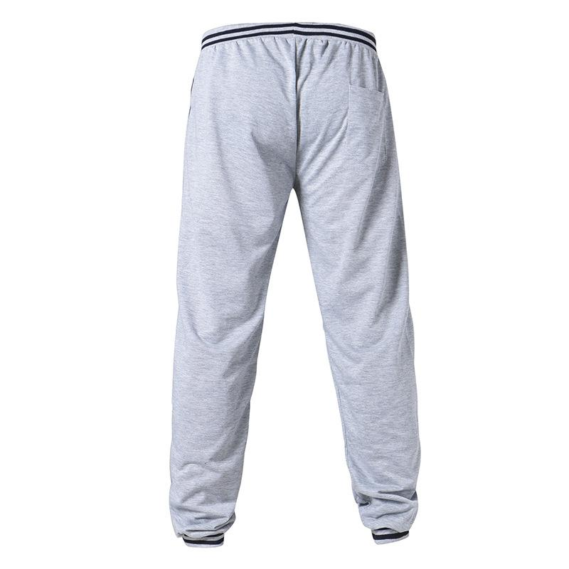 Fitness Running Drawstring Elastic Waist Casual Pants