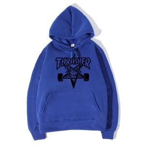 Men's Casual Letter Printed Hooded Sports Sweatshirts