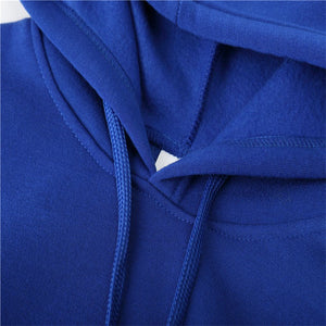 WY14 Men's Fashion Flame Printed Casual Sports Hoodies