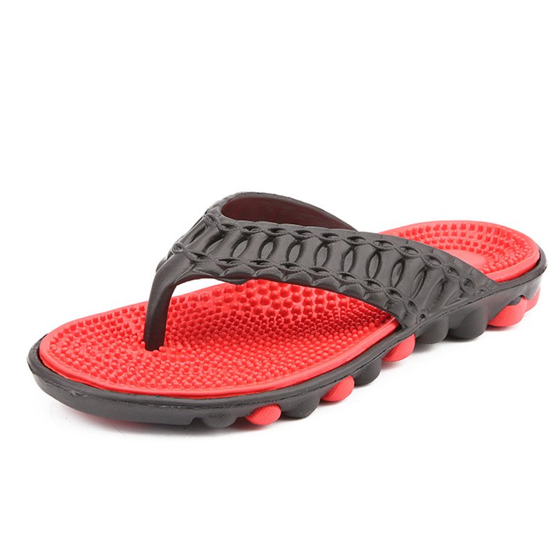 Men's Casual Slip Resistant Comfy Slippers