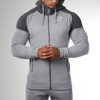 Thick Cotton Sportswear Fitness Men Hoodies