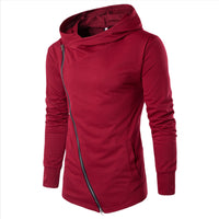 Zipper Design Pullover Hoodies