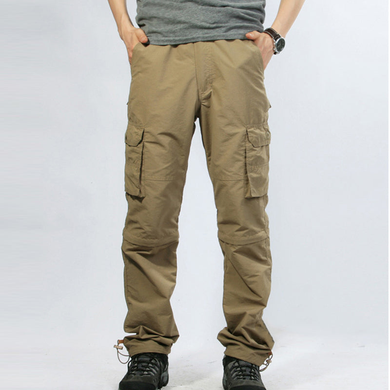 Detachable Multi-pocket Outdoor Hiking Pants