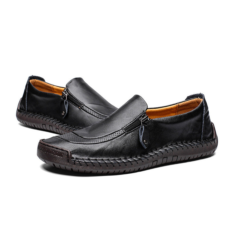 Genuine Leather Comfortable Slip-on