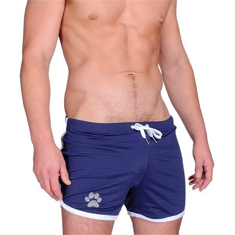 9 Colors Men's Grid Quick Dry Breahtable Beach Shorts