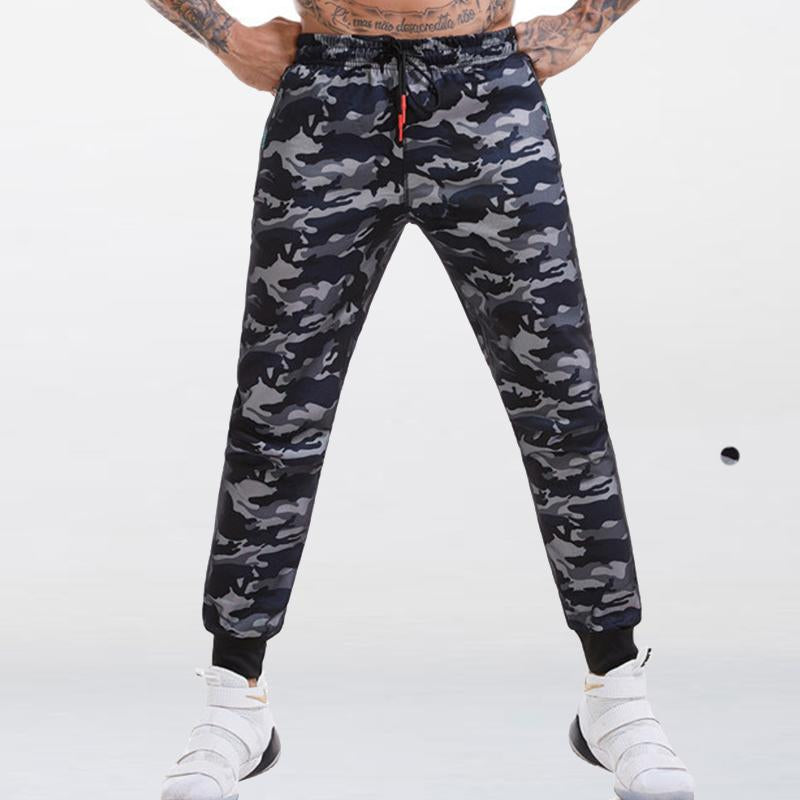 Elastic Waistline Outdoor Sportswear Mens Sweatpants