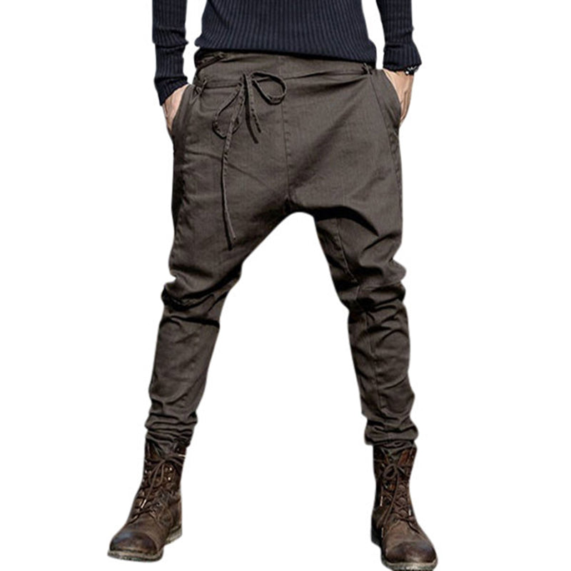 Men's Casual Cotton Harem Pants