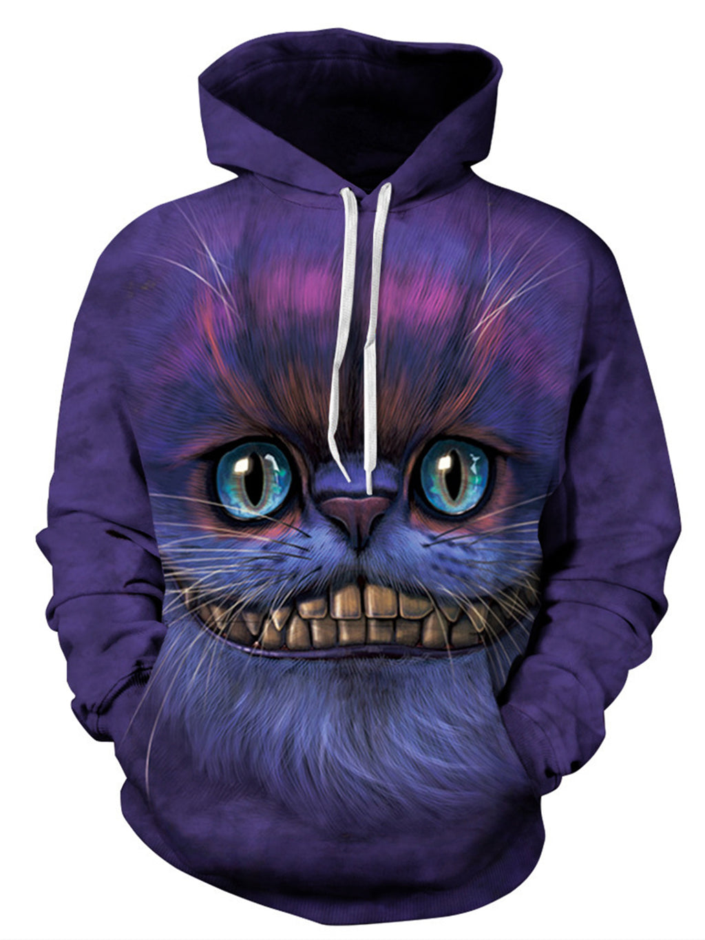 Cheshire Cat Printed 3D Casual Sweatshirts Hoodies