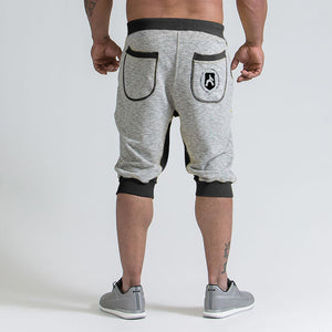 Summer Men's Casual  Patchwork Sport Shorts