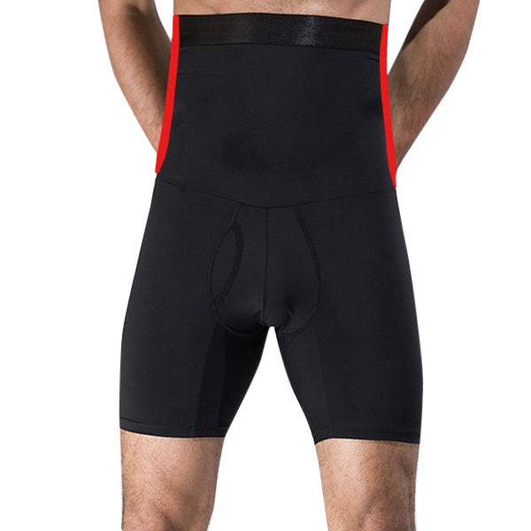 High Elastic High Waist Fat Burning Tight Tummy Tuck Hip Lifting Boxers Briefs