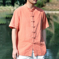 Plus Sizes L-5XL Men's Casual Collar Buttoned Long Sleeve Shirt