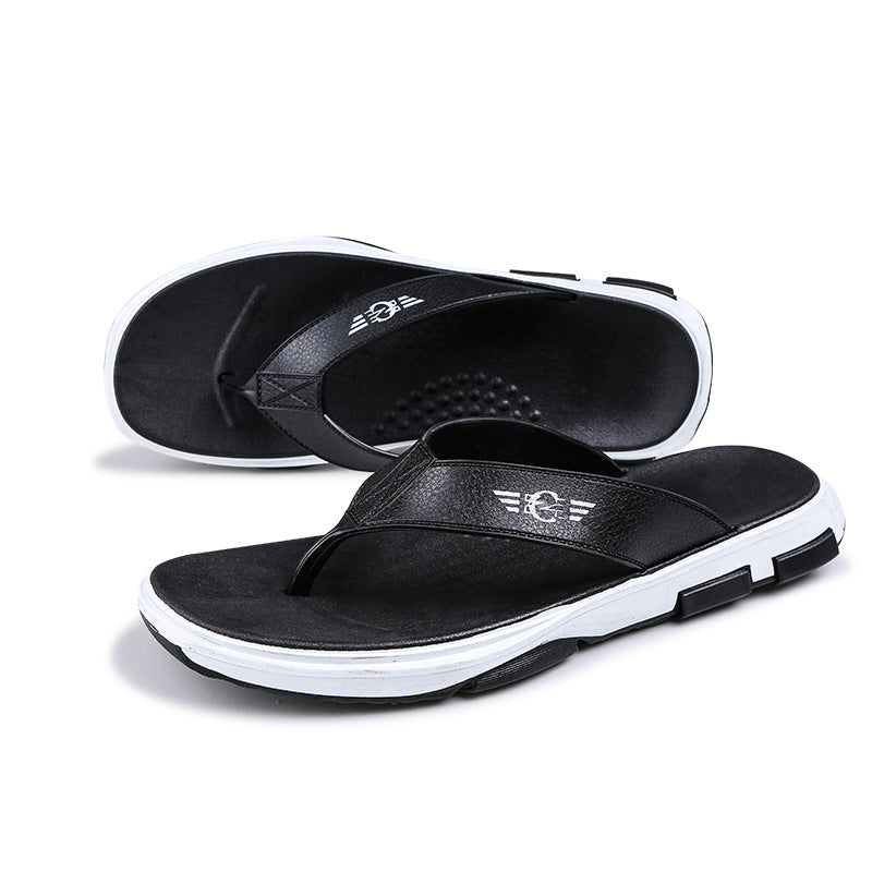 Men's Casual Home Outside Flat Heel Slippers