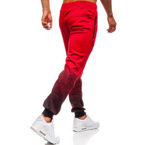 3D Gradient Sports Pant Men's Leisure Sweatpants