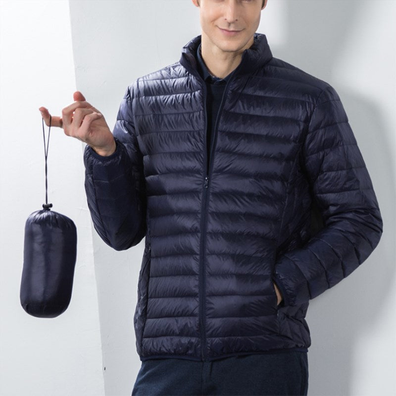 Slim Stand Collar Down Jackets