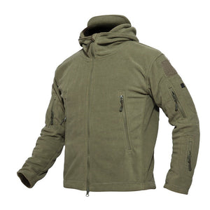 Outdoor Fleece Thicken Warm Multi Pocket Hiking Jackets