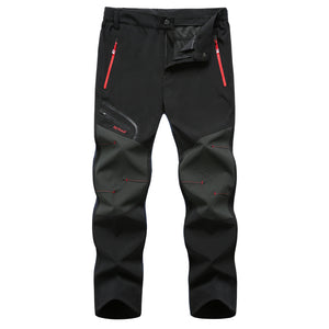 Men's Thin Water-repellent Mountaineering Trousers