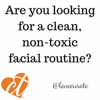 Your Clean, Non-Toxic Facial Routine