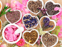 Organic healing tea blends