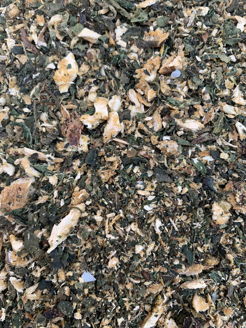 Wild Harvested Lomatium Root & Organic Nettle Leaf Blend