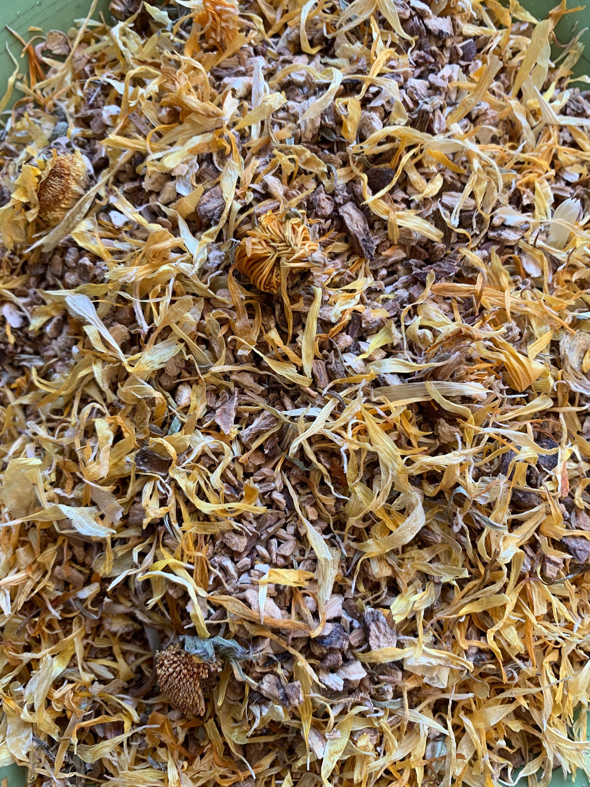 Organic Burdock Root and Organic Calendula Flower Blend