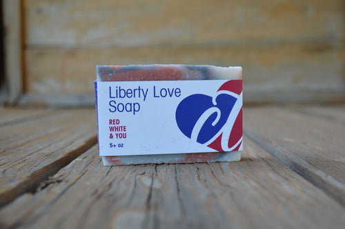 Liberty Love Soap Bar - LIMITED EDITION