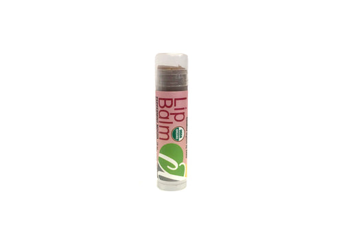 USDA Certified Organic Lip Balm Peppermint Mocha .15 oz Lipstick Tube