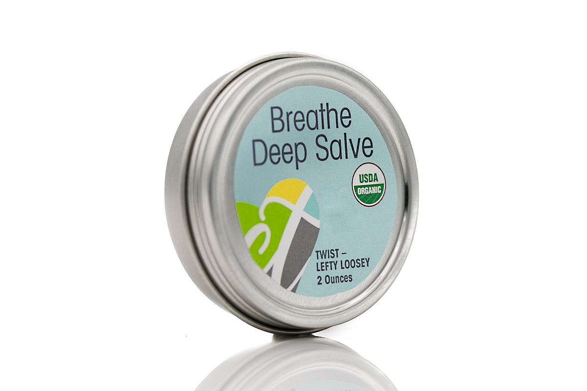 USDA Certified Organic Salve Breathe Deep 2 oz tin