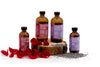 USDA Certified Organic Toner Lavender 4 oz Cura.Te in glass bottle with screw top
