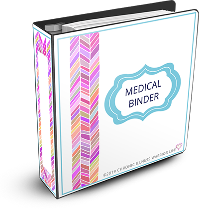 25 unique medical binder templates plus bonus Emergency Medical Information Forms, Daily Medication Tracker Chart, Symptom Tracker Chart, this is the MOST COMPREHENSIVE Chronic Illness Medical Binder you will find.