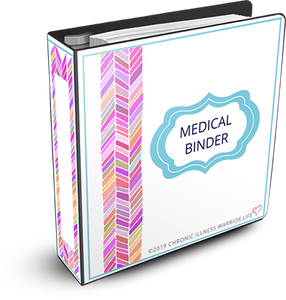 Chronic Illness Medical Information Binder (Printable Templates)