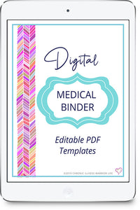 The Complete Medical Binder Organization System--Digital Version (Editable PDF Templates)