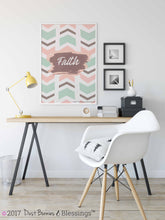 "Load image into Gallery viewer, NATURAL: ""Mandala"" Green, Pink, and Brown Inspirational  Modern Wall Art"