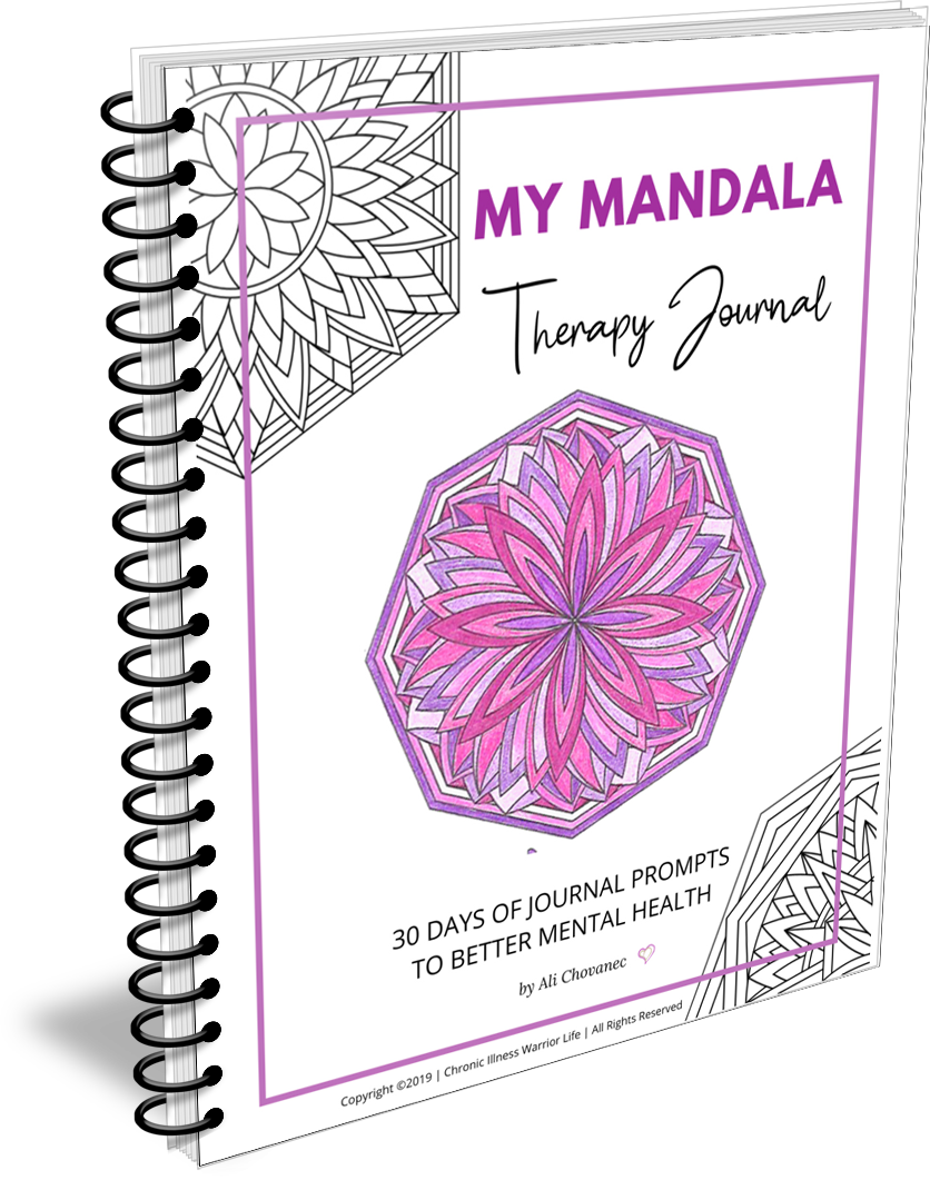 My Mandala Journal: 30 Days of Prompts for Better Mental Health