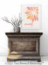 "Load image into Gallery viewer, SERENITY PRAYER:  ""Serenity"" Inspirational Wall Art"