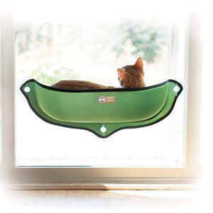 "Amazon.com : K&H Pet Products EZ Mount Window Bed Kitty Sill Green 27"" x 11"" : Pet Supplies,  - Abbey Daily Deals - Abbeyshoppingplaza.com"