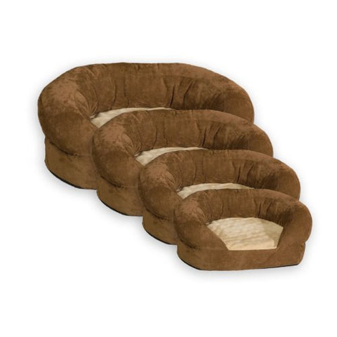 Abbey Daily Deals, Ortho Bolster Sleeper Pet Bed - Medium - Brown, Top Pet Beds - Abbey Daily Deals - Abbeyshoppingplaza.com Shopify