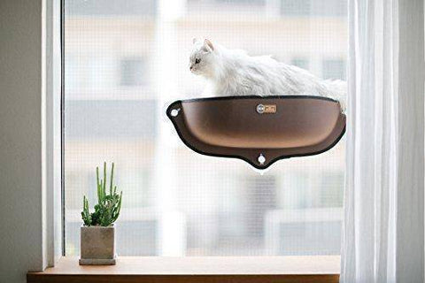 Abbey Daily Deals, EZ Mount Window Bed Kitty Sill  - Tan, Top Pet Beds - Abbey Daily Deals - Abbeyshoppingplaza.com Shopify