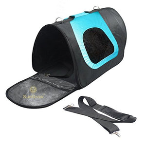Breathable Dog Bag Carrier - Blue