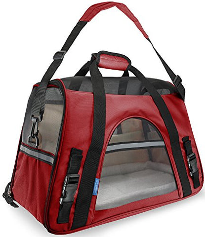 Abbey Daily Deals, Airline Approved Pet Carriers For Dogs & Cats - Large - Crimson Red, Top Pet Carriers - Abbey Daily Deals - Abbeyshoppingplaza.com Shopify