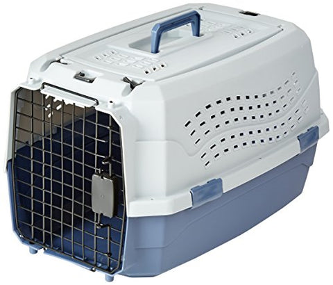 Image of Abbey Daily Deals, Top Quality Pet Carrier - Medium - Grey/Blue, Top Pet Carriers - Abbey Daily Deals - Abbeyshoppingplaza.com Shopify
