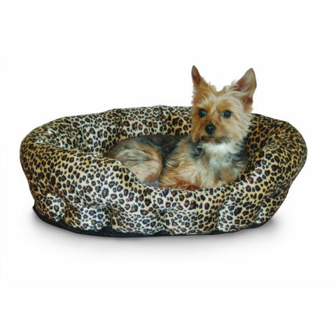 "Abbey Daily Deals, Self-Warming Nuzzle Nest Pet Bed - Leopard - Size 19"", Top Pet Beds - Abbey Daily Deals - Abbeyshoppingplaza.com Shopify"