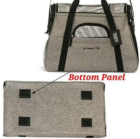 Image of Abbey Daily Deals, Airline Approved Two-Tone Luxury Pet Carrier -  Medium / Charcoal Ash, Top Pet Carriers - Abbey Daily Deals - Abbeyshoppingplaza.com Shopify