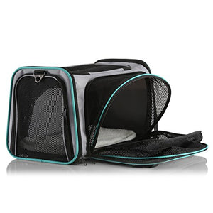 Expandable Airline Approved Pet Carrier  - Small